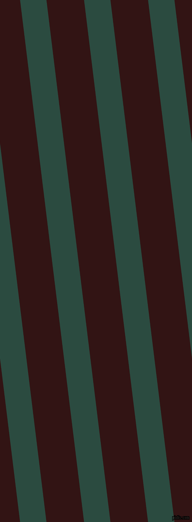 97 degree angle lines stripes, 54 pixel line width, 77 pixel line spacing, Te Papa Green and Seal Brown angled lines and stripes seamless tileable
