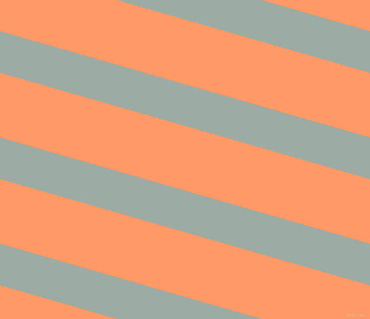 164 degree angle lines stripes, 80 pixel line width, 125 pixel line spacing, Tower Grey and Atomic Tangerine angled lines and stripes seamless tileable