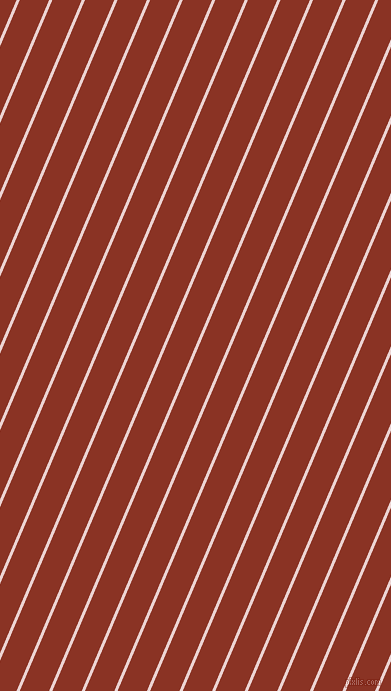 67 degree angle lines stripes, 3 pixel line width, 27 pixel line spacing, Vanilla Ice and Burnt Umber angled lines and stripes seamless tileable