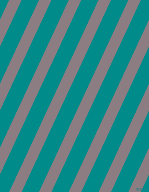 65 degree angle lines stripes, 38 pixel line width, 53 pixel line spacing, Venus and Dark Cyan angled lines and stripes seamless tileable