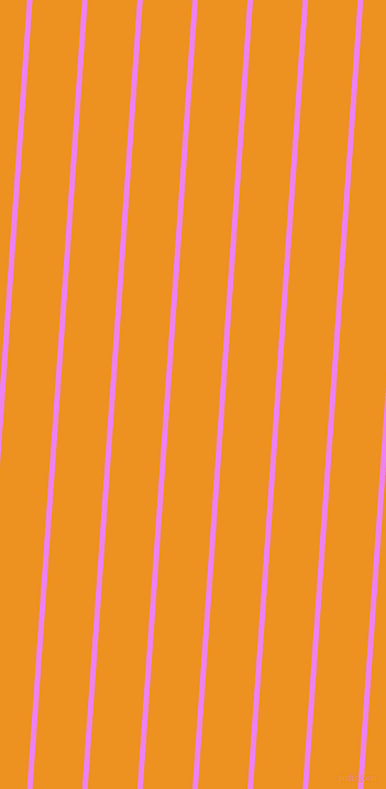 86 degree angle lines stripes, 5 pixel line width, 45 pixel line spacing, Violet and Carrot Orange angled lines and stripes seamless tileable