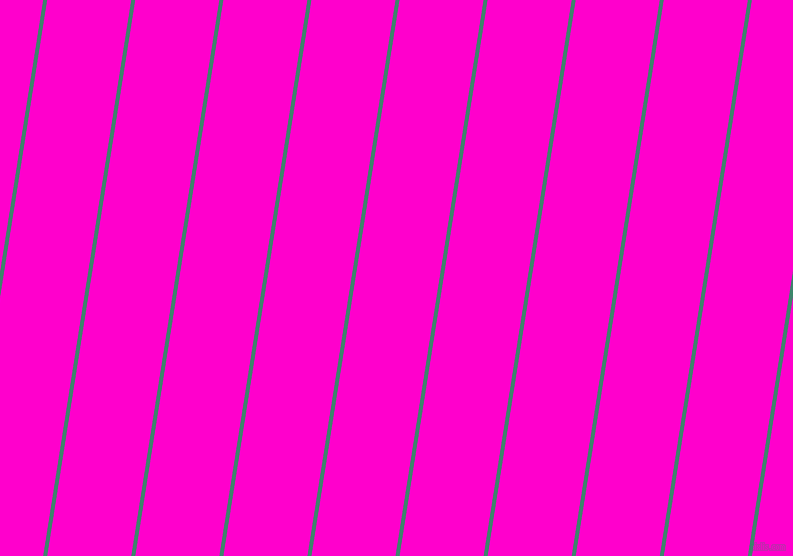 81 degree angle lines stripes, 4 pixel line width, 83 pixel line spacing, Viridian and Hot Magenta angled lines and stripes seamless tileable