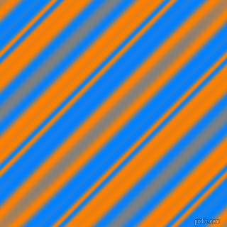 Dodger Blue and Dark Orange beveled plasma lines seamless tileable