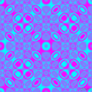 , Aqua and Magenta cellular plasma seamless tileable