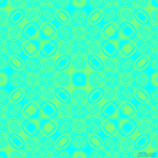 , Aqua and Mint Green cellular plasma seamless tileable