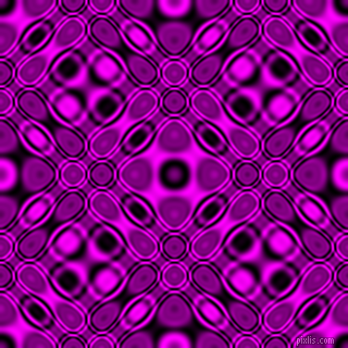, Black and Magenta cellular plasma seamless tileable