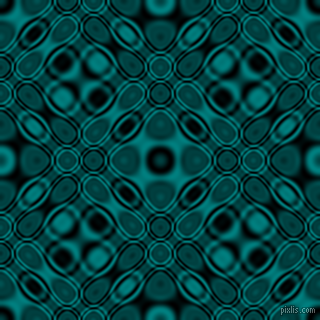 , Black and Teal cellular plasma seamless tileable