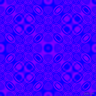 , Blue and Electric Indigo cellular plasma seamless tileable