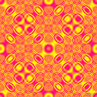 , Deep Pink and Yellow cellular plasma seamless tileable