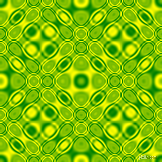 Green and Yellow cellular plasma seamless tileable