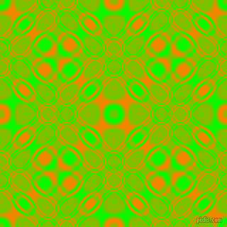 , Lime and Dark Orange cellular plasma seamless tileable