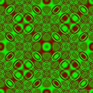 , Lime and Maroon cellular plasma seamless tileable