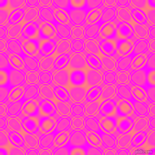 , Magenta and Salmon cellular plasma seamless tileable