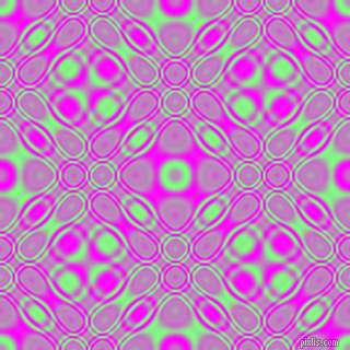 , Mint Green and Magenta cellular plasma seamless tileable