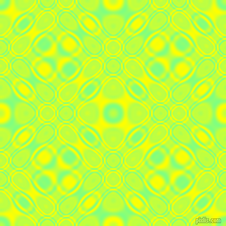 , Mint Green and Yellow cellular plasma seamless tileable