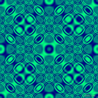 , Navy and Spring Green cellular plasma seamless tileable