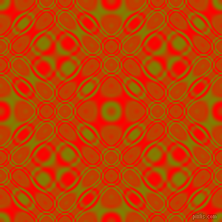 Olive and Red cellular plasma seamless tileable