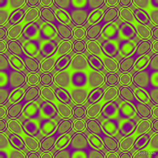 , Purple and Chartreuse cellular plasma seamless tileable