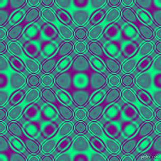 , Spring Green and Purple cellular plasma seamless tileable