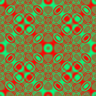 , Spring Green and Red cellular plasma seamless tileable
