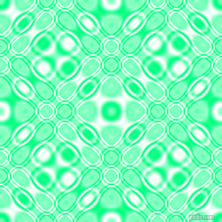 , Spring Green and White cellular plasma seamless tileable