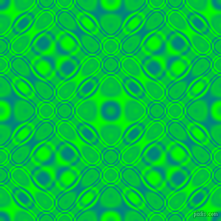 , Teal and Lime cellular plasma seamless tileable