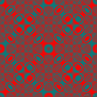 Teal and Red cellular plasma seamless tileable