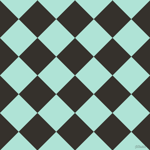 45/135 degree angle diagonal checkered chequered squares checker pattern checkers background, 89 pixel square size, , Acadia and Ice Cold checkers chequered checkered squares seamless tileable