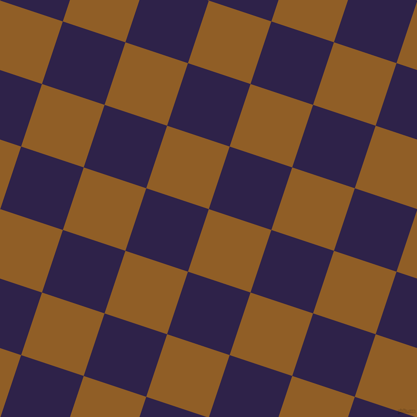 72/162 degree angle diagonal checkered chequered squares checker pattern checkers background, 136 pixel squares size, , Afghan Tan and Violent Violet checkers chequered checkered squares seamless tileable