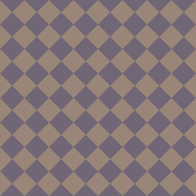 45/135 degree angle diagonal checkered chequered squares checker pattern checkers background, 57 pixel squares size, , Almond Frost and Rum checkers chequered checkered squares seamless tileable