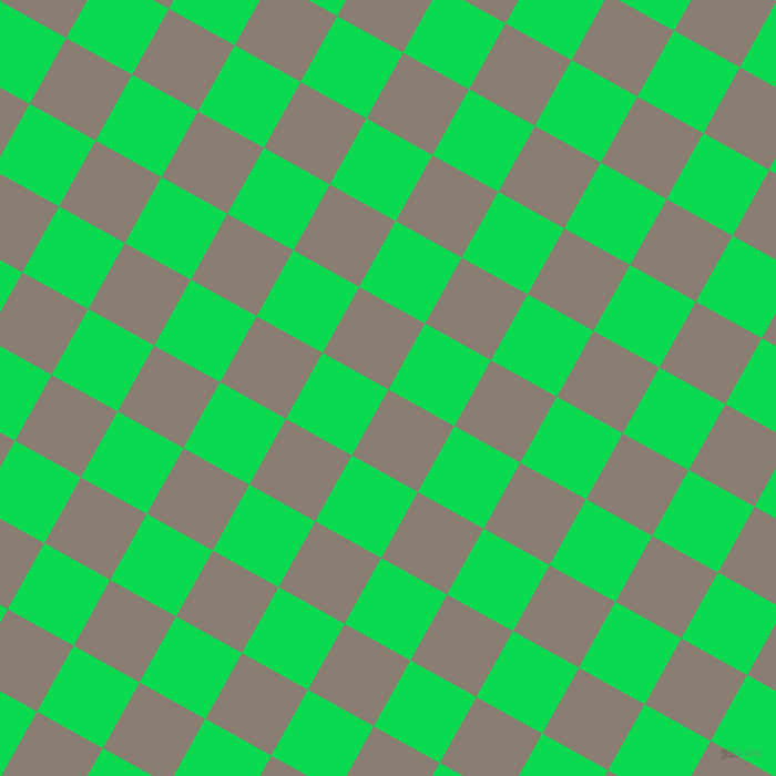 61/151 degree angle diagonal checkered chequered squares checker pattern checkers background, 68 pixel squares size, , Americano and Malachite checkers chequered checkered squares seamless tileable