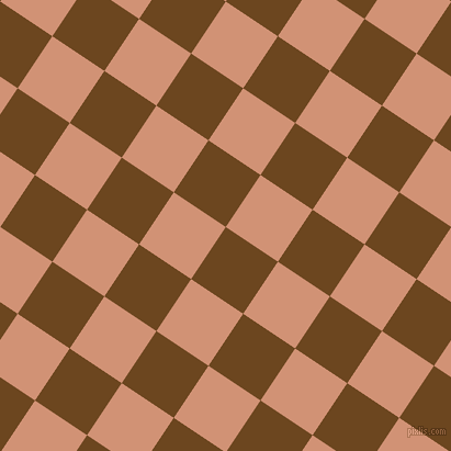 56/146 degree angle diagonal checkered chequered squares checker pattern checkers background, 57 pixel squares size, , Antique Brass and Feldspar checkers chequered checkered squares seamless tileable
