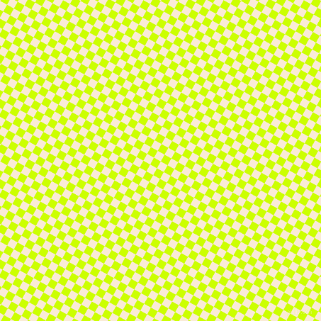 61/151 degree angle diagonal checkered chequered squares checker pattern checkers background, 11 pixel squares size, , Antique White and Electric Lime checkers chequered checkered squares seamless tileable