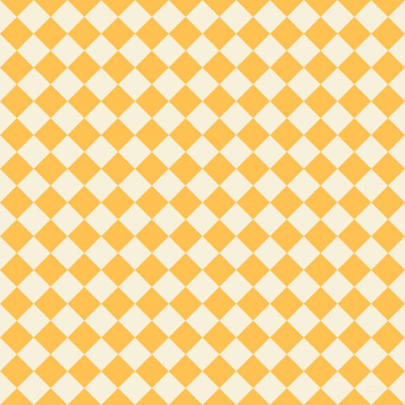 45/135 degree angle diagonal checkered chequered squares checker pattern checkers background, 34 pixel squares size, , Apricot White and Golden Tainoi checkers chequered checkered squares seamless tileable
