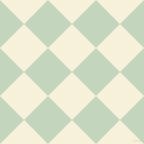 ... Apricot White and Surf Crest checkers chequered checkered squares Apricot
