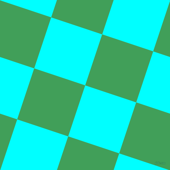 72/162 degree angle diagonal checkered chequered squares checker pattern checkers background, 185 pixel squares size, , Aqua and Chateau Green checkers chequered checkered squares seamless tileable