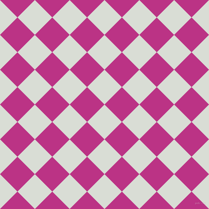 45/135 degree angle diagonal checkered chequered squares checker pattern checkers background, 80 pixel squares size, , Aqua Haze and Red Violet checkers chequered checkered squares seamless tileable