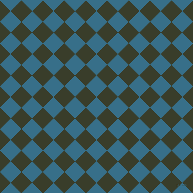 45/135 degree angle diagonal checkered chequered squares checker pattern checkers background, 51 pixel squares size, , Astral and Green Kelp checkers chequered checkered squares seamless tileable