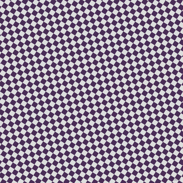 58/148 degree angle diagonal checkered chequered squares checker pattern checkers background, 19 pixel square size, , Athens Grey and Scarlet Gum checkers chequered checkered squares seamless tileable
