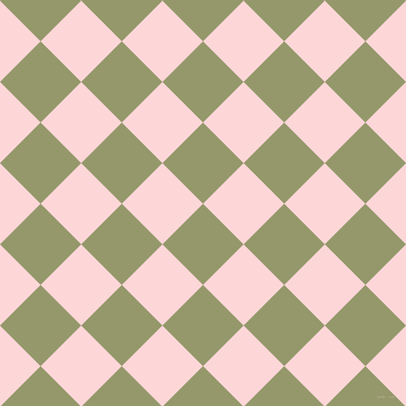 45/135 degree angle diagonal checkered chequered squares checker pattern checkers background, 113 pixel squares size, Avocado and We Peep checkers chequered checkered squares seamless tileable