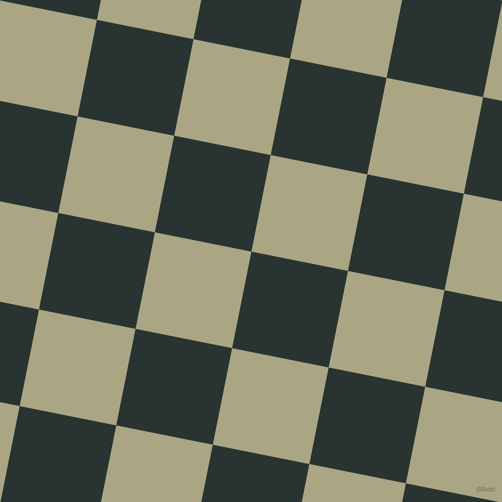 79/169 degree angle diagonal checkered chequered squares checker pattern checkers background, 193 pixel square size, , Aztec and Neutral Green checkers chequered checkered squares seamless tileable