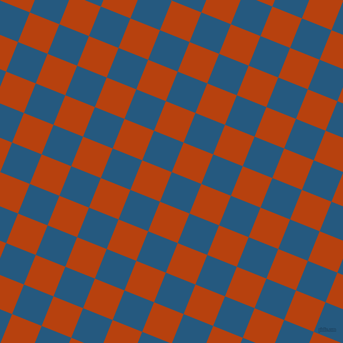 68/158 degree angle diagonal checkered chequered squares checker pattern checkers background, 65 pixel square size, , Bahama Blue and Rust checkers chequered checkered squares seamless tileable