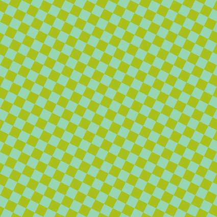 63/153 degree angle diagonal checkered chequered squares checker pattern checkers background, 19 pixel square size, , Bahia and Vista Blue checkers chequered checkered squares seamless tileable