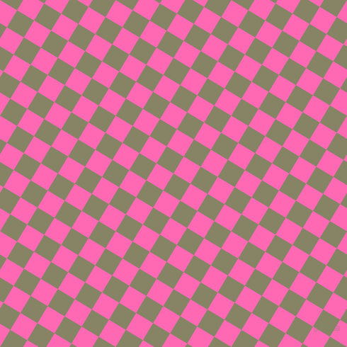 59/149 degree angle diagonal checkered chequered squares checker pattern checkers background, 28 pixel squares size, , Bandicoot and Hot Pink checkers chequered checkered squares seamless tileable