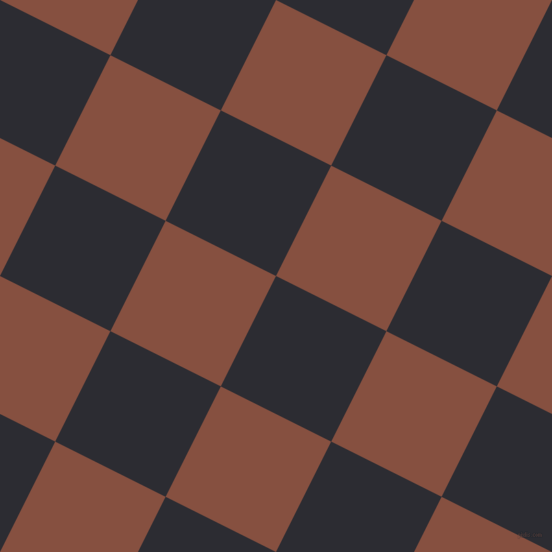 63/153 degree angle diagonal checkered chequered squares checker pattern checkers background, 180 pixel square size, , Bastille and Ironstone checkers chequered checkered squares seamless tileable