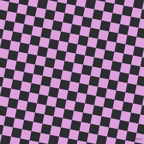 79/169 degree angle diagonal checkered chequered squares checker pattern checkers background, 33 pixel squares size, , Bastille and Plum checkers chequered checkered squares seamless tileable