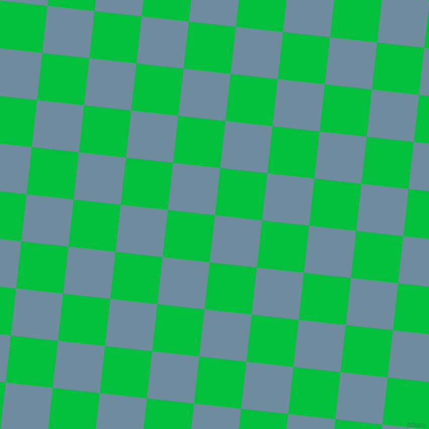 84/174 degree angle diagonal checkered chequered squares checker pattern checkers background, 94 pixel square size, , Bermuda Grey and Dark Pastel Green checkers chequered checkered squares seamless tileable