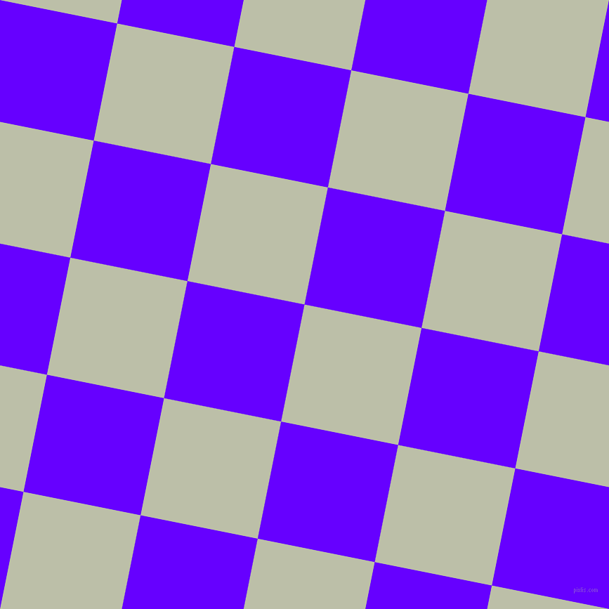 79/169 degree angle diagonal checkered chequered squares checker pattern checkers background, 170 pixel square size, , Beryl Green and Electric Indigo checkers chequered checkered squares seamless tileable