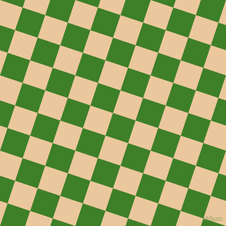 72/162 degree angle diagonal checkered chequered squares checker pattern checkers background, 47 pixel square size, , Bilbao and New Tan checkers chequered checkered squares seamless tileable