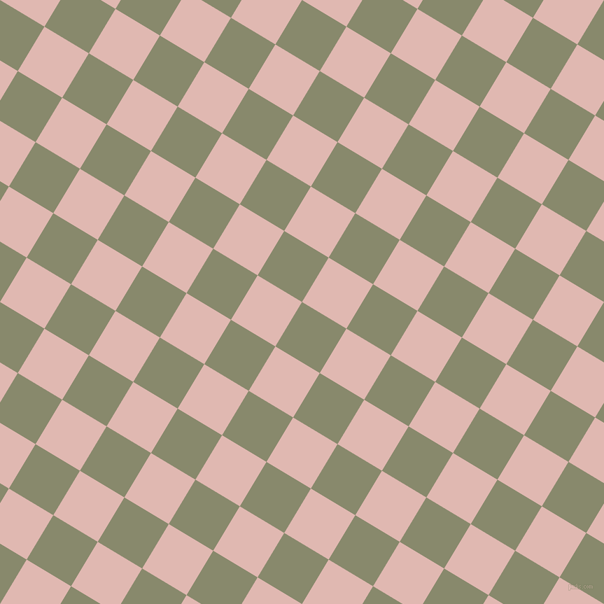 59/149 degree angle diagonal checkered chequered squares checker pattern checkers background, 74 pixel squares size, , Bitter and Cavern Pink checkers chequered checkered squares seamless tileable